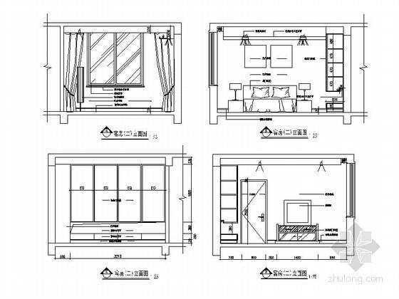 家居客房立面图