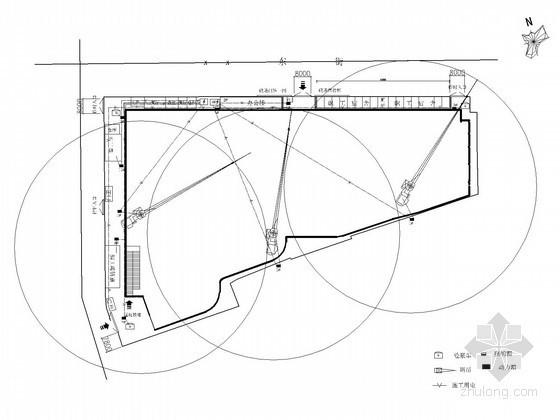 [呼和浩特]大型综合广场施工现场电气施工方案