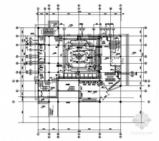 某大楼加建洗浴城给排水施工图
