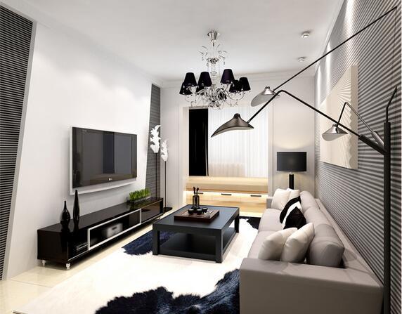 我傲娇、时尚,黑白颜色的室内设计就是这个feel