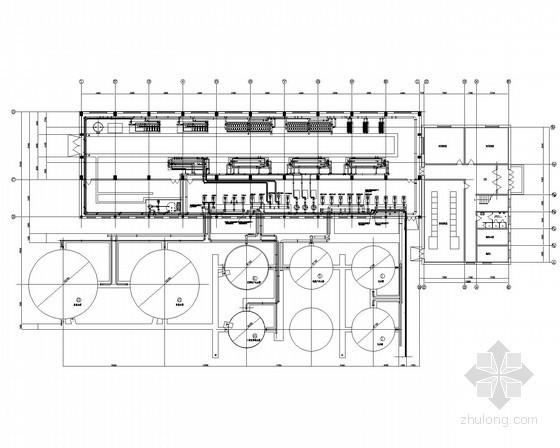 [呼伦贝尔]热电厂锅炉补给水全套设备图