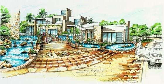 [苏州]高端高尔夫别墅园林规划设计方案