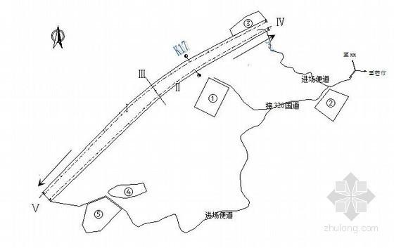分离式端墙洞门隧道新奥法施工专项方案77页(云南 大管棚)