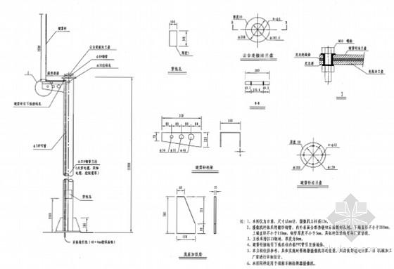 摄像机立柱结构图