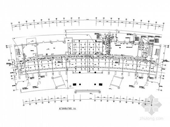 upvc排水管消能装置资料下载-七层办公楼给排水及全淹没灭火系统施工图