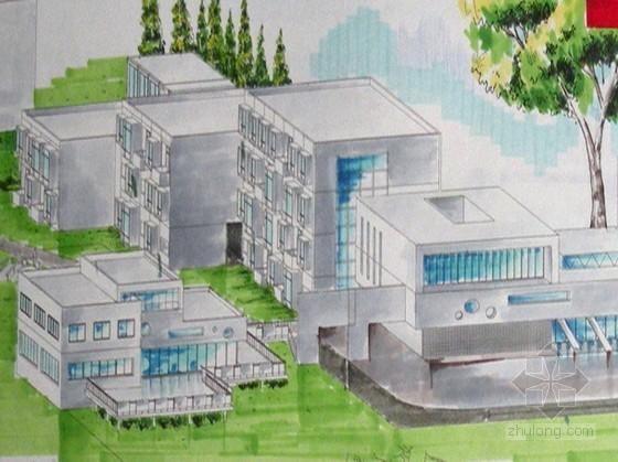 [学生作品]某旅馆设计(含模型照片)