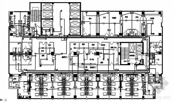 山东某医院全套弱电施工图