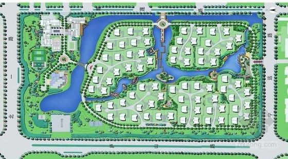 [东营]滨水住宅小区景观设计方案