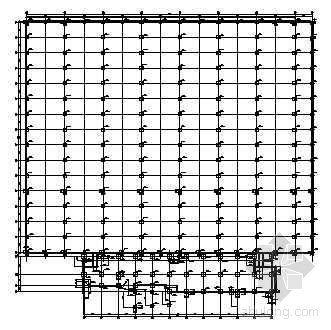 多跨钢结构厂房带附楼结施