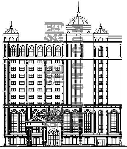 某大酒店建筑设计方案