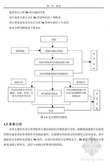[硕士] P6项目管理软件在建筑工程中的应用研究[2010]