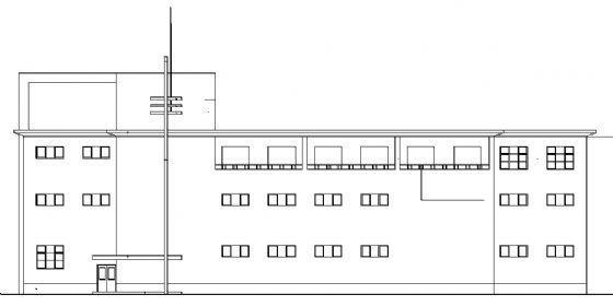 洗浴中心建筑施工图