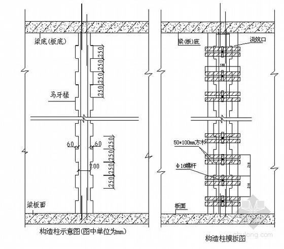 [山东]二次结构砌筑施工方案(实心砖、加气混凝土砌块)