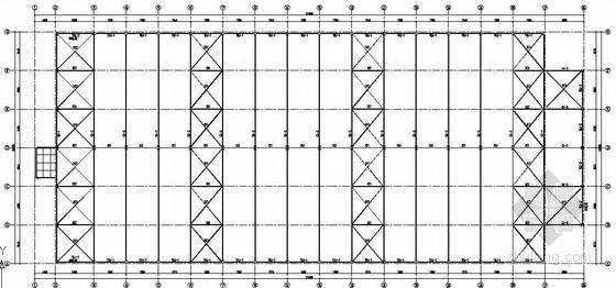 [鄂尔多斯]单层钢结构厂房结构施工图