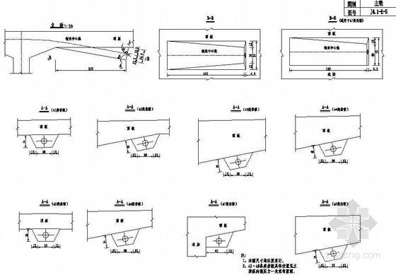 双塔双索面斜拉桥主梁纵向预应力一次束齿板构造节点详图设计