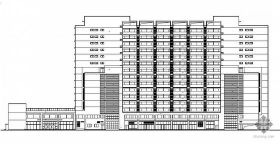 [北京]某十五层大学生公寓建筑设计施工图(带人防工程)