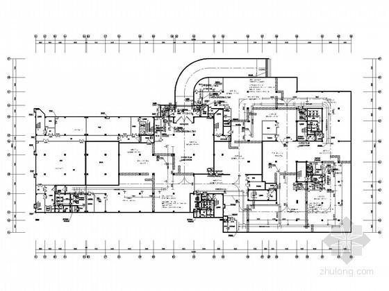 [湖南]高等院校通风及防排烟系统设计施工图(人防设计)