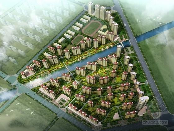 [山东]滨水住宅小区景观规划设计