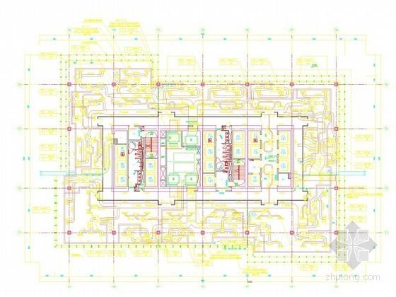 [上海]超高层综合商办楼空调通风及防排烟系统设计施工图