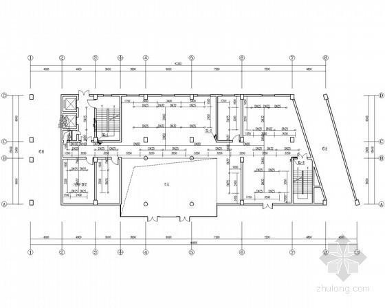 [湖南]高层办公楼消防系统改造施工图(消防给水、电气、通风、智能应急)