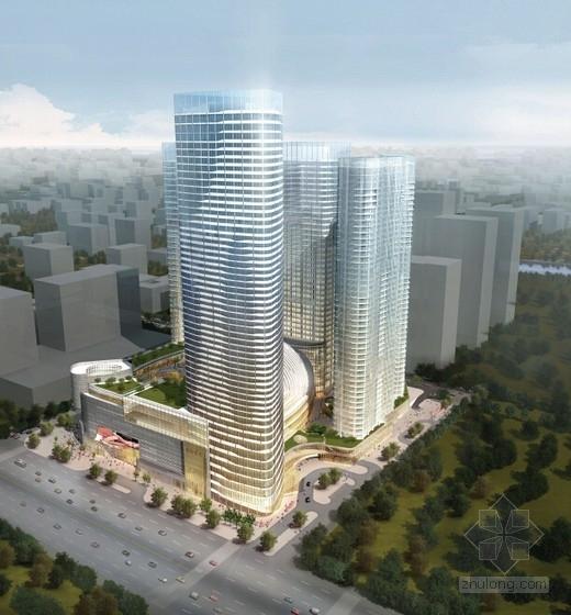 [成都]大型知名超高层城市综合体建筑设计方案文本