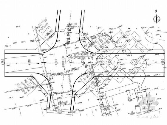 [四川]城市次干道道路工程施工图设计