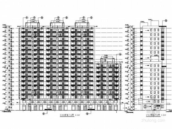 18层剪力墙结构住宅楼结构图(含建筑图)