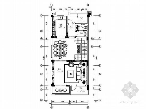 [四川]地中海联排别墅室内装修设计图(含效果)