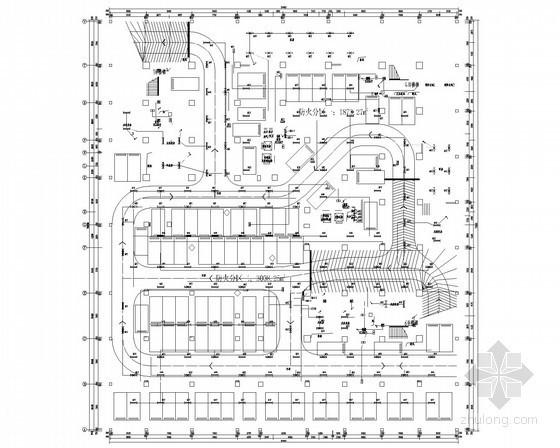 [河南]27层商业大厦全套电气施工图纸