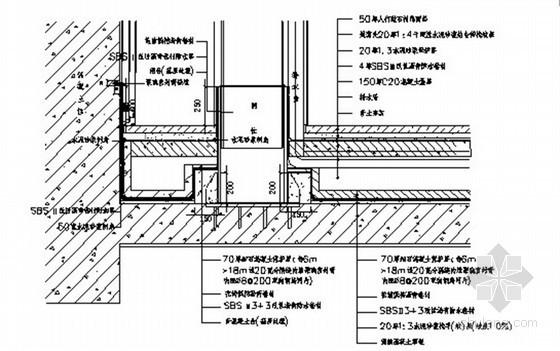 大型商业建筑防水及屋面工程施工方案