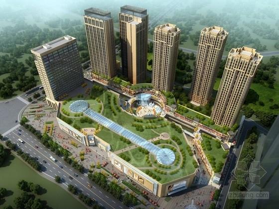 [重庆]现代风格商业综合体及单体设计方案文本(知名地产)