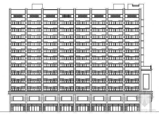 某十三层现代风格酒店方案初步设计图(含效果图)