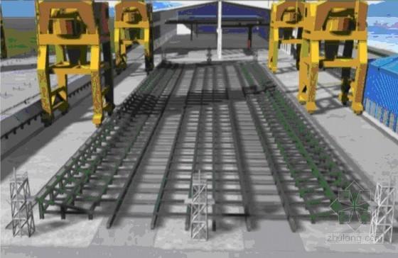 上海(钢结构)钢板梁人行天桥施工方案