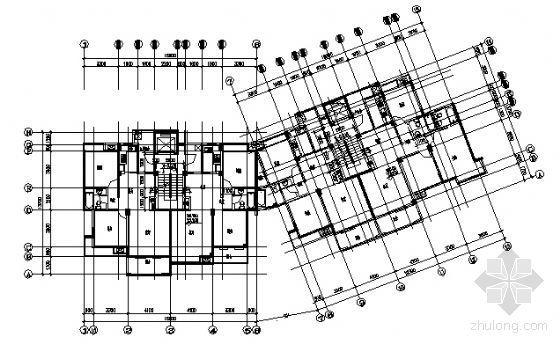 某十一层住宅楼建筑方案图-3
