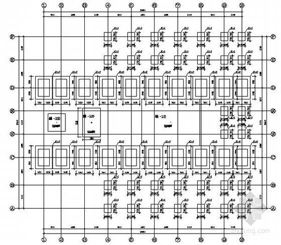 [四川]轻型门式钢架索道上站房结构施工图