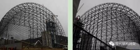 [行业资讯]大跨度煤棚焊接球网架液压顶升施工技术_21