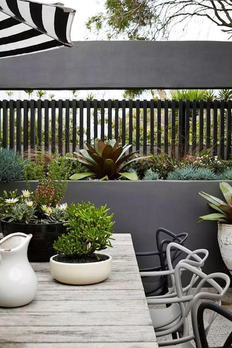 用心设计过的围墙,能让你家小院瞬间与众不同!_23