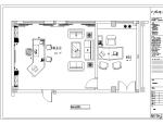 省委宣传部领导办公室设计图混搭配风格(含40张图纸)