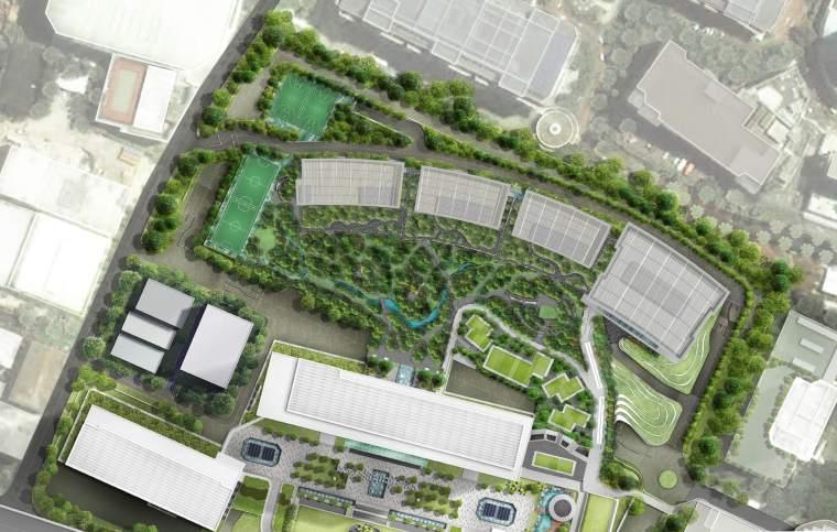 新加坡Comtech商业园区景观-23