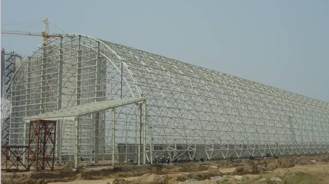 大跨度堆场屋盖设计