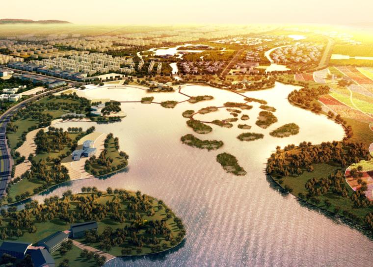 [四川]成都市青白江區鳳凰湖國際生態濕地旅游度假區規劃方案文本