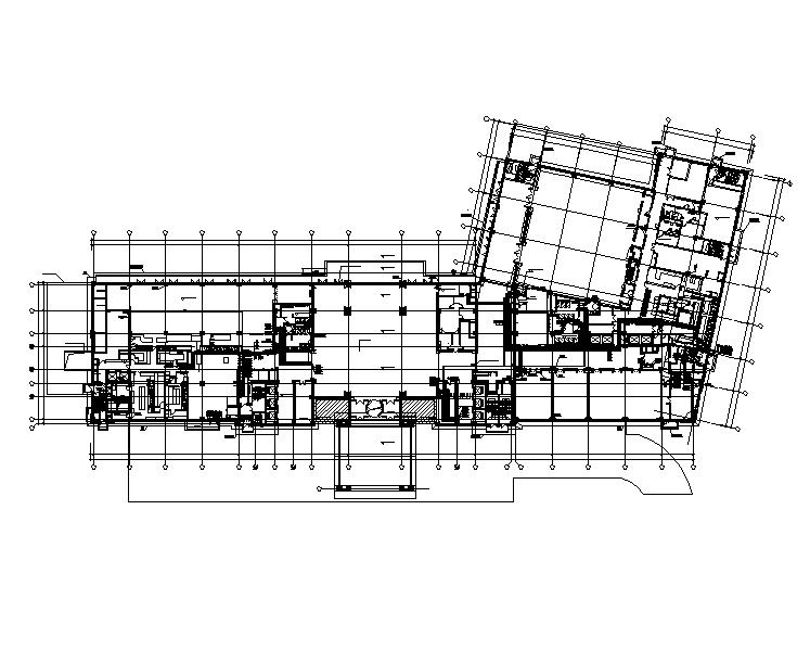 江苏知名地产四星酒店给排水整套施工图