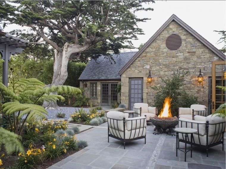 庭院庭院设计资料下载-出色节水设计的诗意庭园