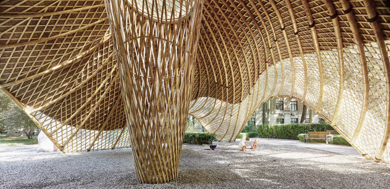 北京林业大学花园节信息亭-003-swirling-cloud-bulletin-pavilion-for-bjfu-garden-festival-by-sup-atelier