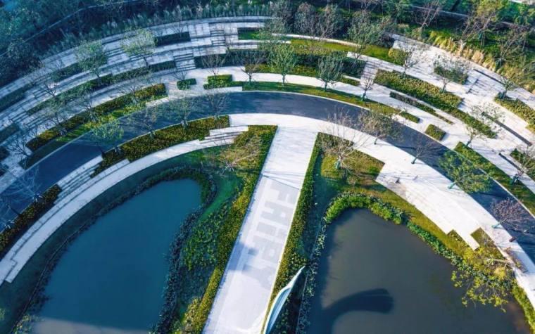 上海万科安亭湖语森林景观-3