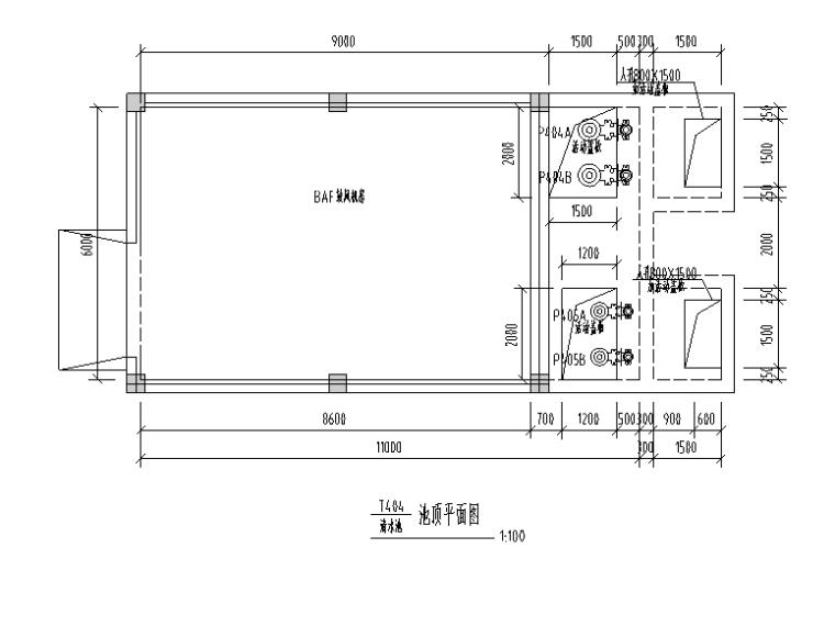 甲醇生产综合废水和生活污水综合处理厂给排水施工图(CAD)