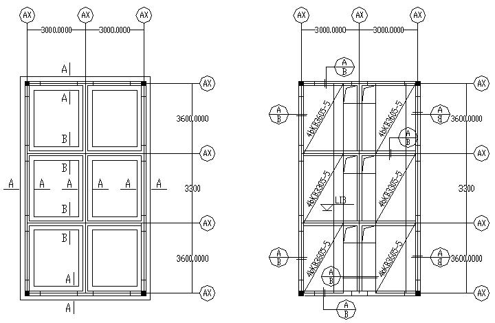 临时用房全套结构施工图(CAD,4张)_1