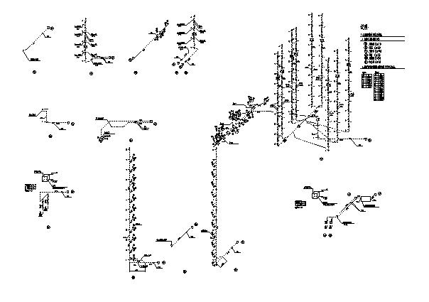 上海市学校给排水全套施工图(建筑、风、电)