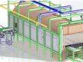 加热炉or工业炉三维模型及详图