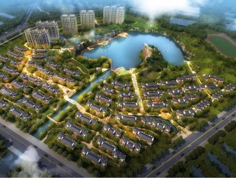 [江苏]苏州朗诗科技城新中式风格别墅规划方案文本设计(PSD+126页)